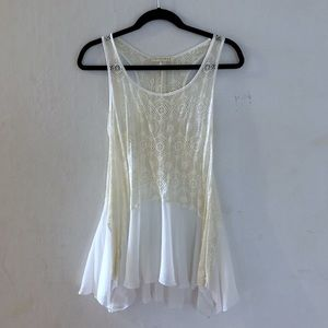 Tops - Lace Flare Top